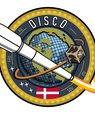 [Translate to English:] Det nye logo for DISCO. Design: Marc Breiner Sørensen