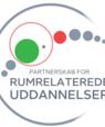 [Translate to English:] logo for Partnerskab for rumrelaterede uddannelser i Danmark.